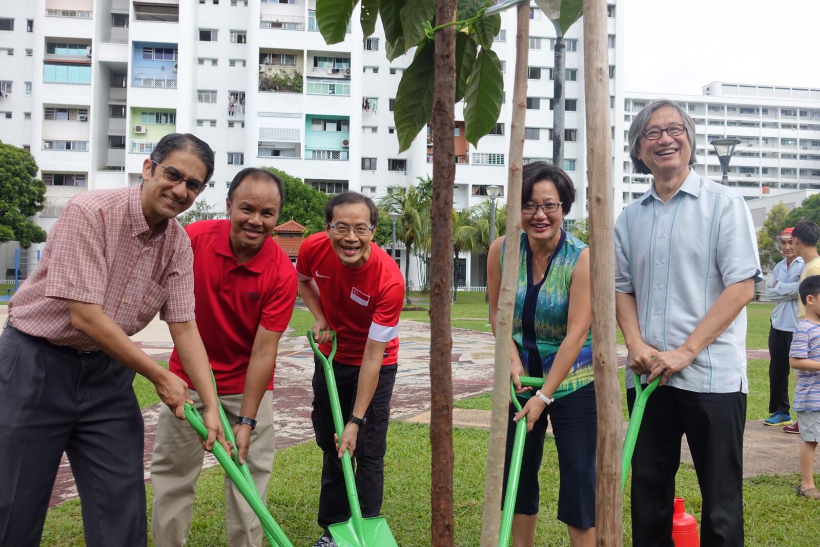 Planting a Greener Aljunied-Hougang Town
