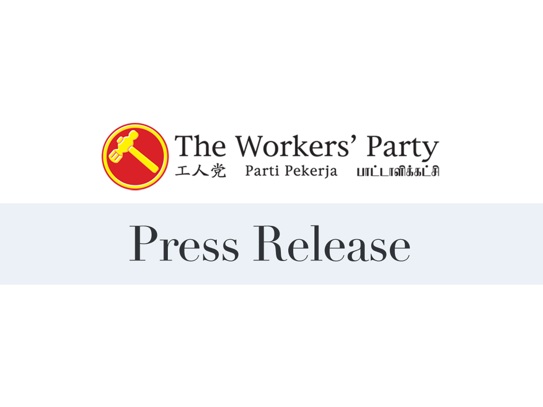 Workers' Party Media Statement on the new MRT Rail Financing Framework and Buyout of SMRT by Temasek