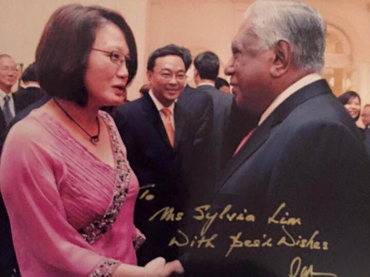 Tribute to SR Nathan – Speech by Sylvia Lim